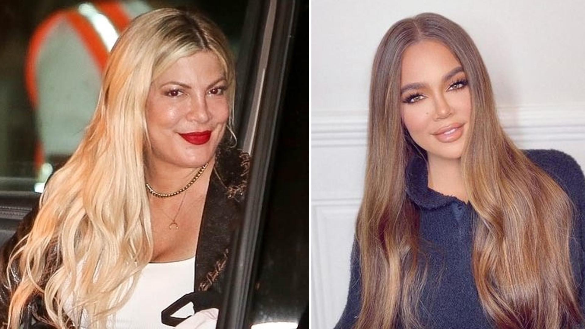 Tori Spelling wygląda teraz jak Khloe Kardashian. Coś poszło nie tak?