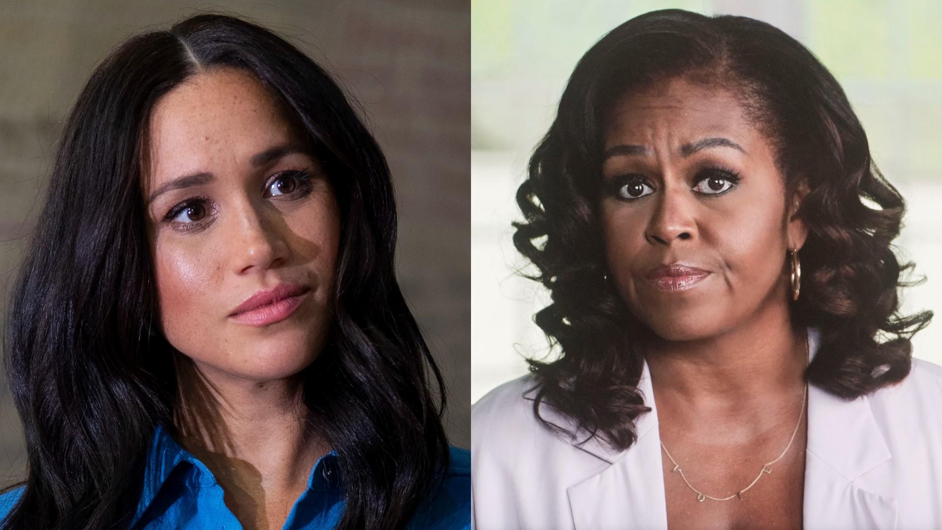 Meghan Markle rzuciła focha na Michelle Obamę i planuje małe odegranie na byłej Pierwszej Damie USA