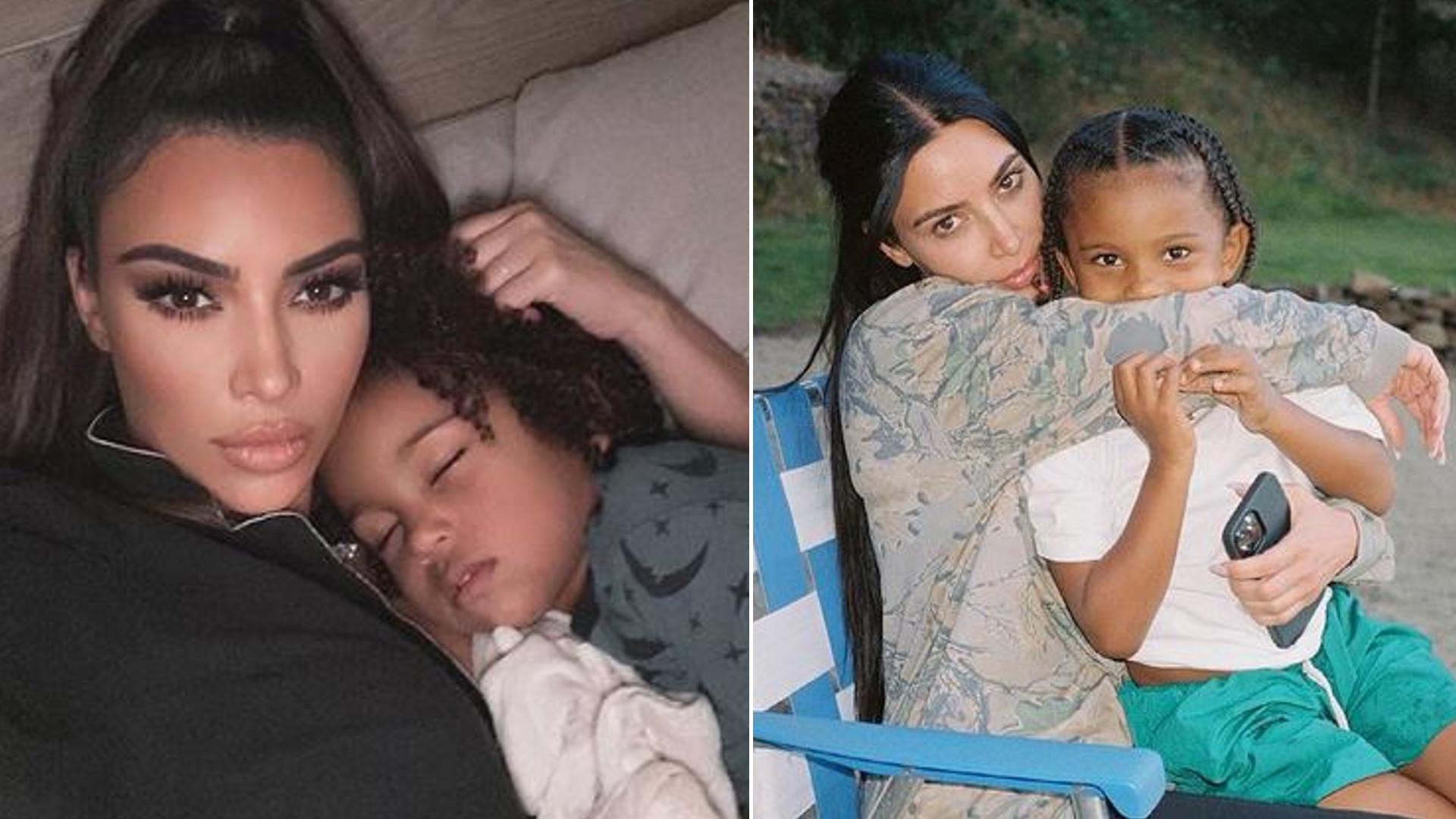 Syn Kim Kardashian, 5-letni Saint, miał WYPADEK! Gwiazda jest zdruzgotana
