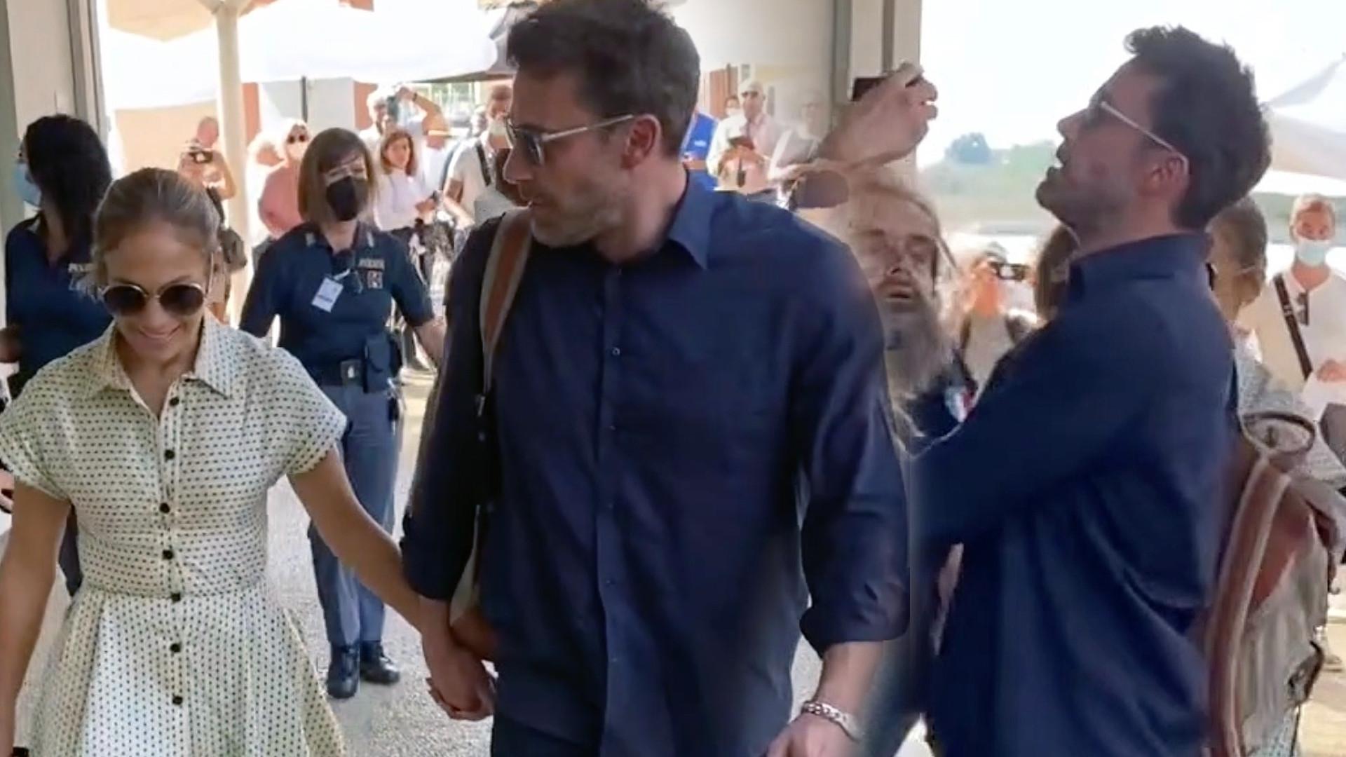 J.Lo zaatakowana przez fana. Ben wkroczył do akcji
