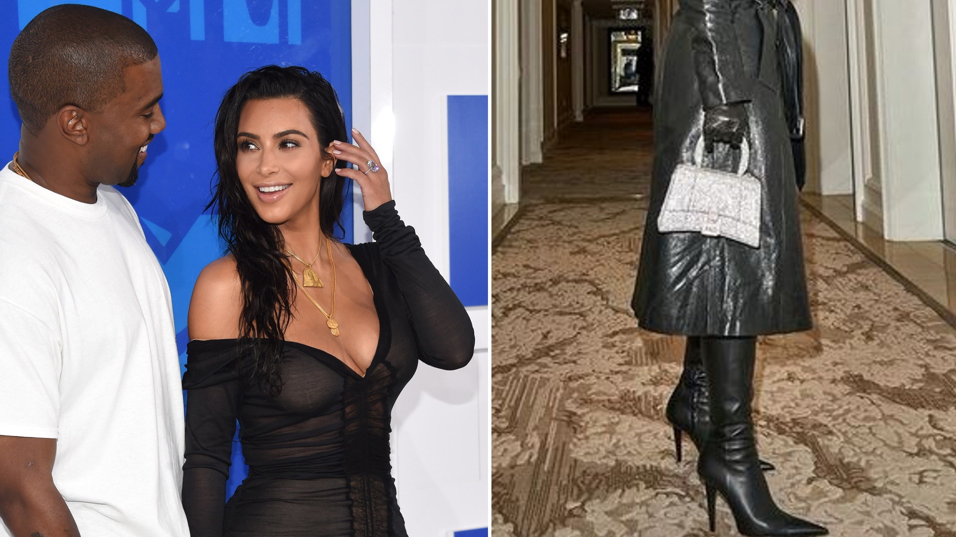 Kim Kardashian w wersji sado-maso idzie w ślady swojego eks