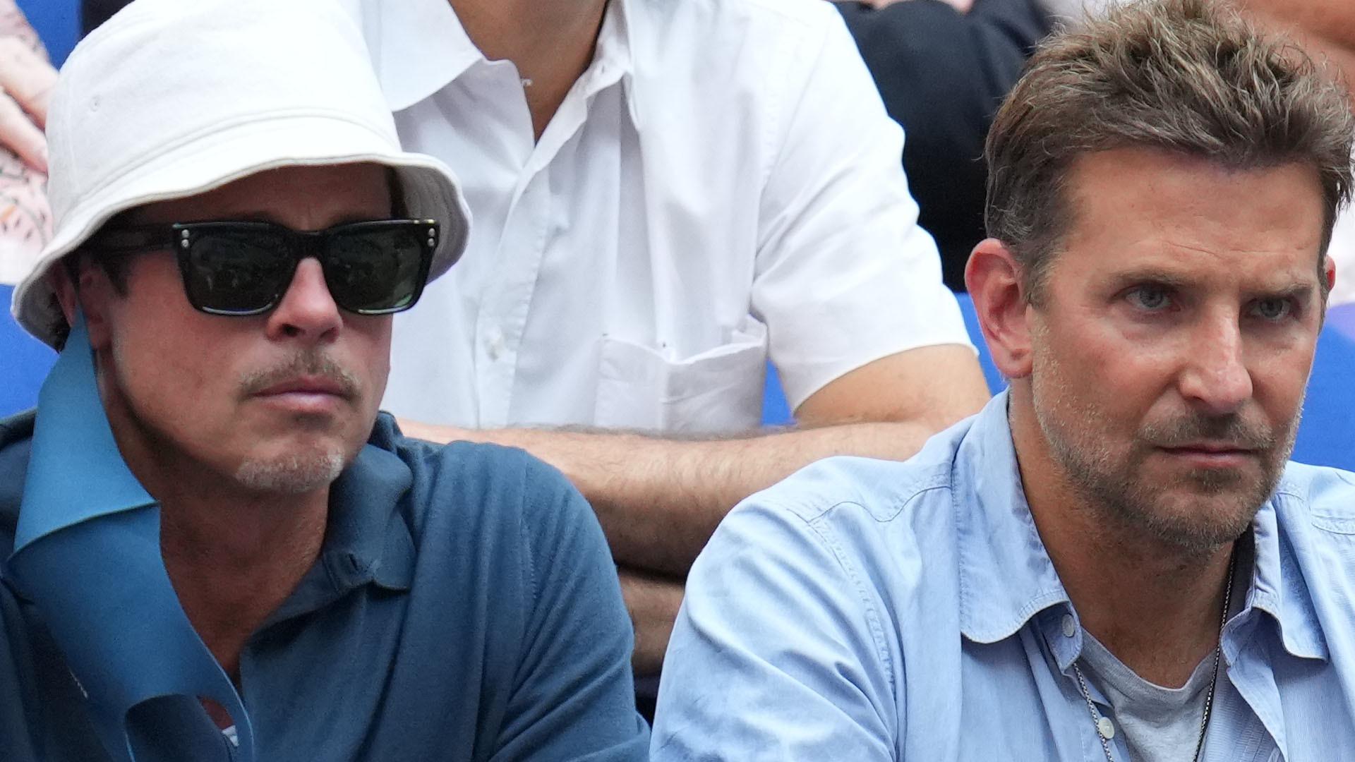 To jest widok! Brad Pitt i Bradley Cooper wybrali się razem na US Open