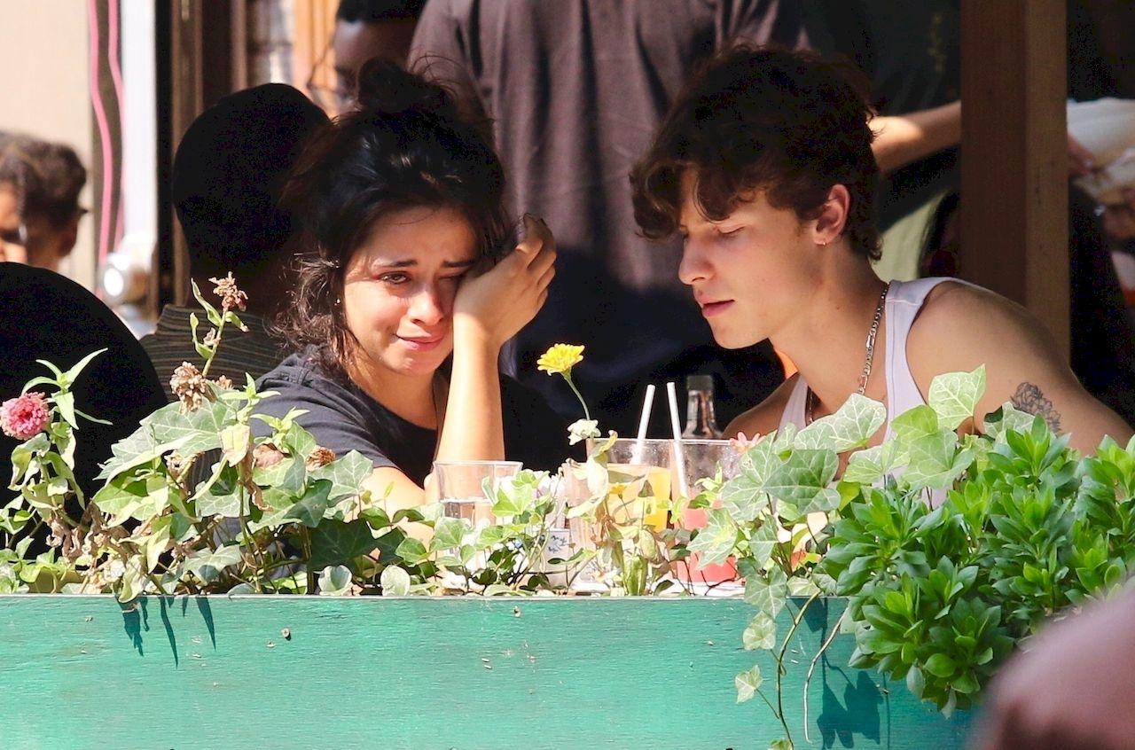 Camila Cabello płacze na randce z Shawnem Mendesem