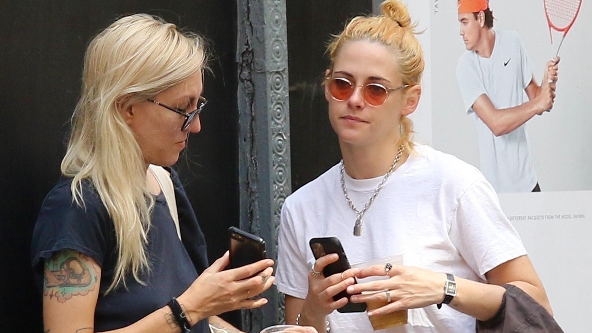 Kristen Stewart pojawiła się w Nowym Jorku ze swoją dziewczyną