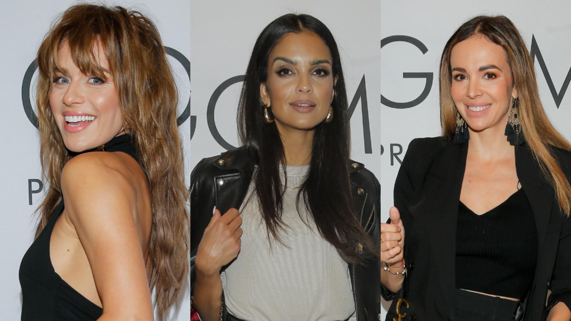 Natasza Urbańska, Klaudia El Dursi, Anna Wendzikowska w czerni na pokazie mody (ZDJĘCIA)