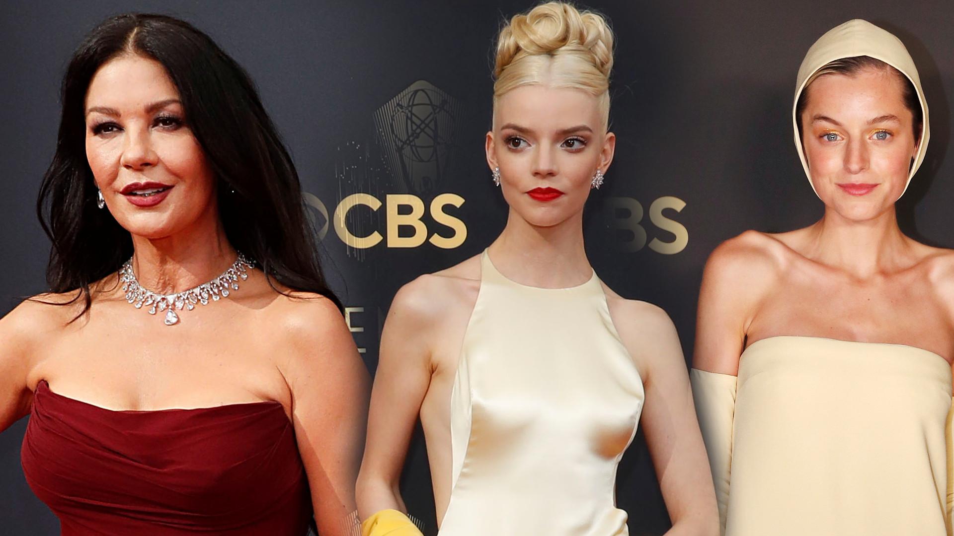 Emmy 2021: Zobaczcie NAJPIĘKNIEJSZE kreacje (ZDJĘCIA)