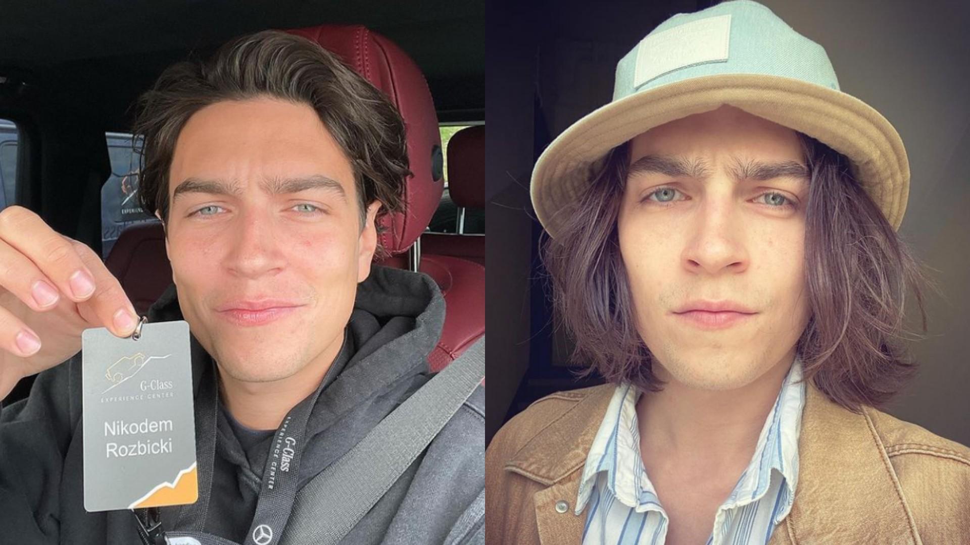 Nikodem Rozbicki pokazał brata! Wyglądają jak bliźniacy!