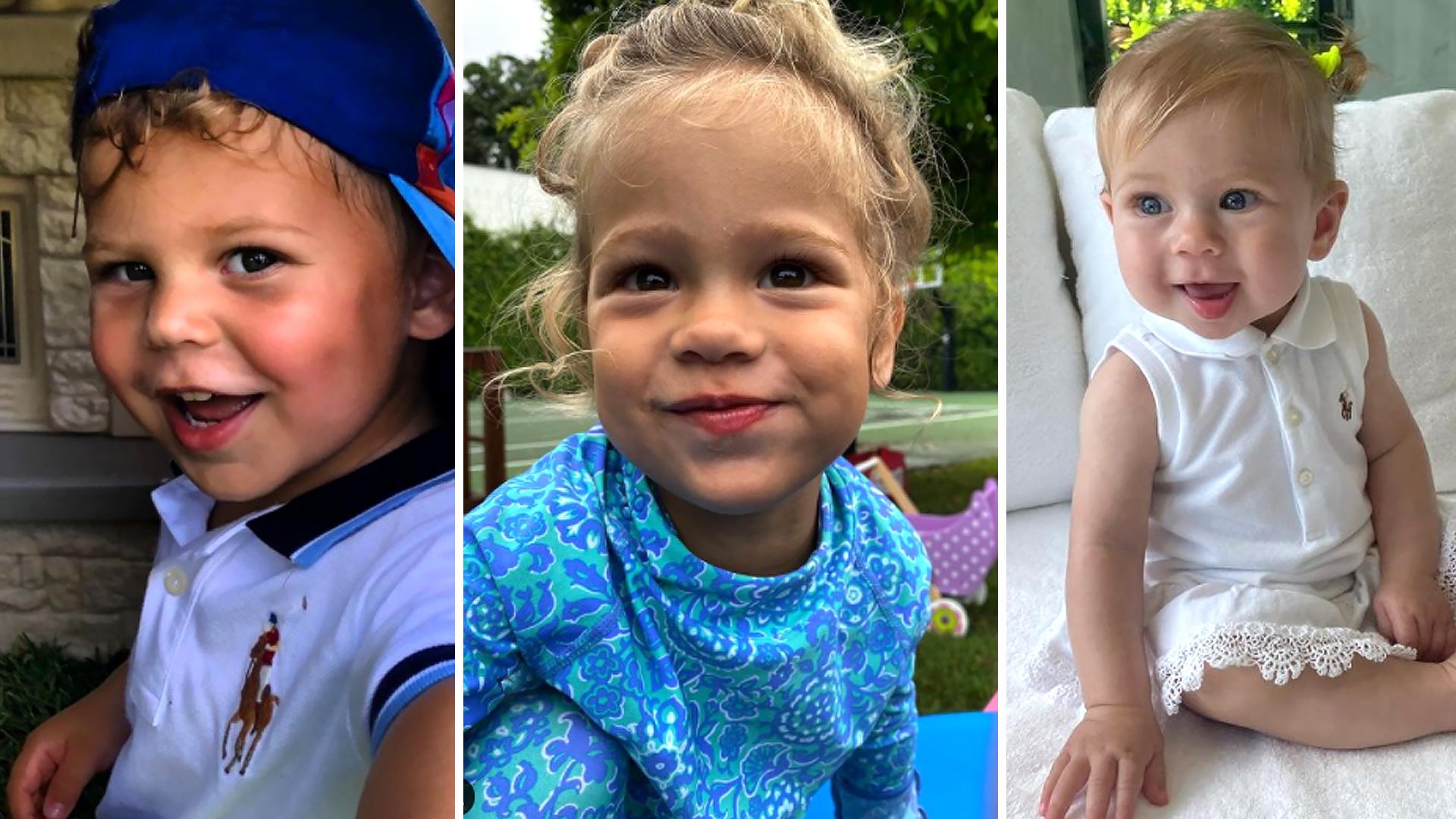 Anna Kournikova – partnerka Enrique Iglesiasa, wrzuciła video z trójką ich dzieci na Instagram
