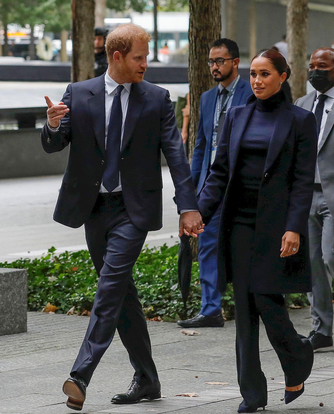 Meghan Markle i książę Harry w Nowym Jorku