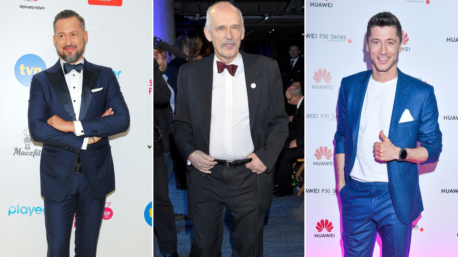 Ile wzrostu mają najwyżsi faceci polskiego show-biznesu?