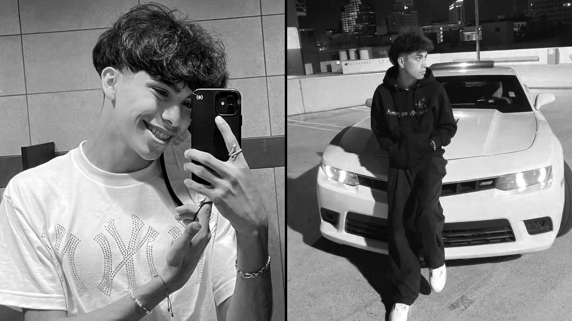 19-letnia gwiazda TikToka Gabriel Salazar zginął w pożarze samochodu