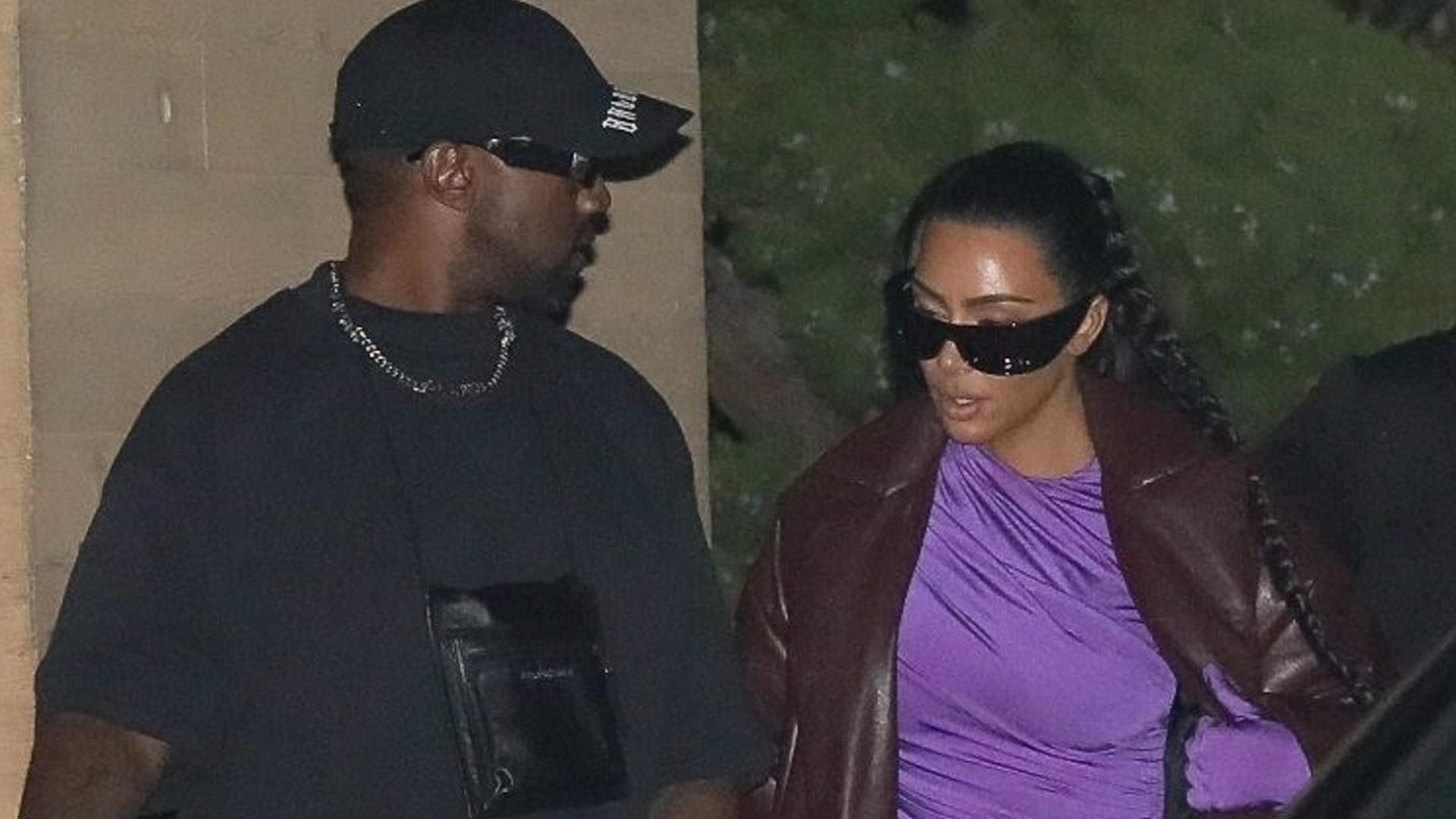 Kim Kardashian i Kanye West znów przyłapani razem. Zrobili nas w konia z rozstaniem?