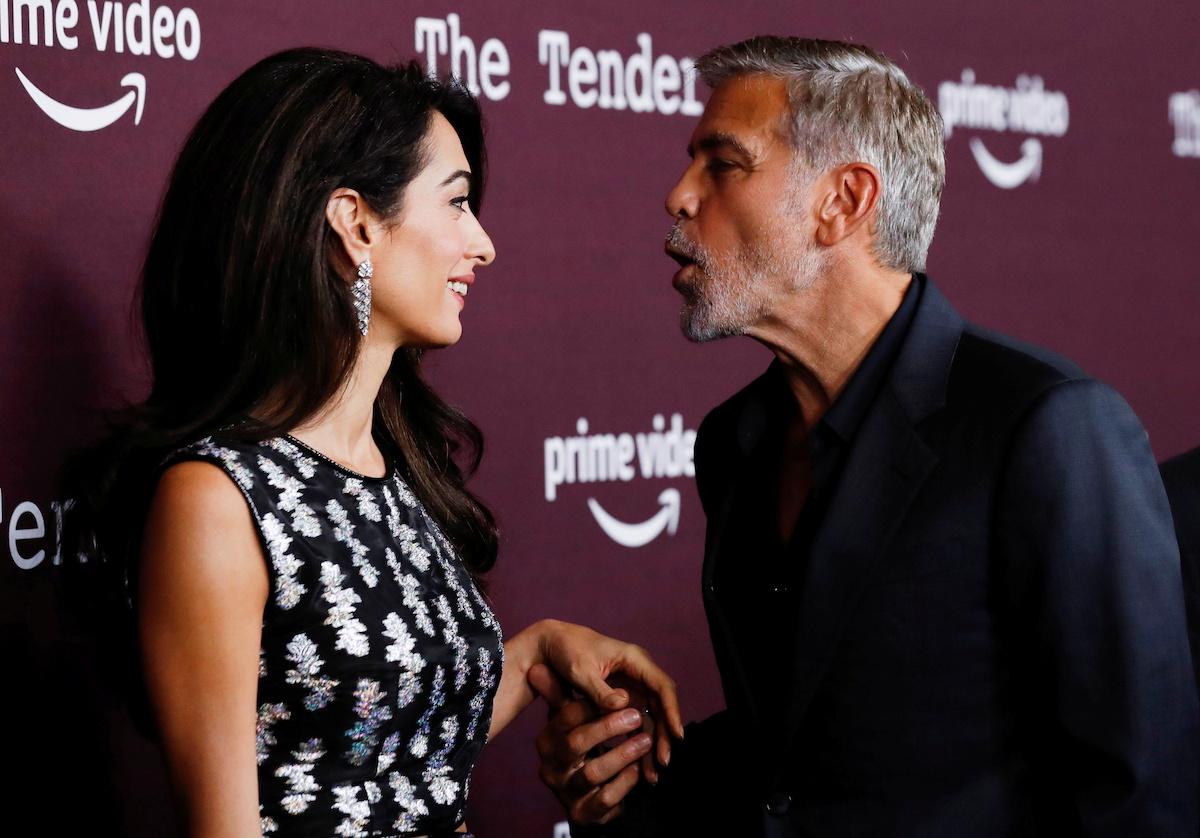 Dawno niewidziani George Clooney z żoną