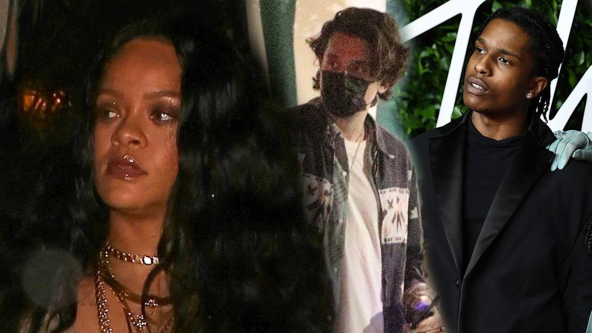 Rihanna na kolacji z Johnem Mayerem. Co na to A$AP Rocky?