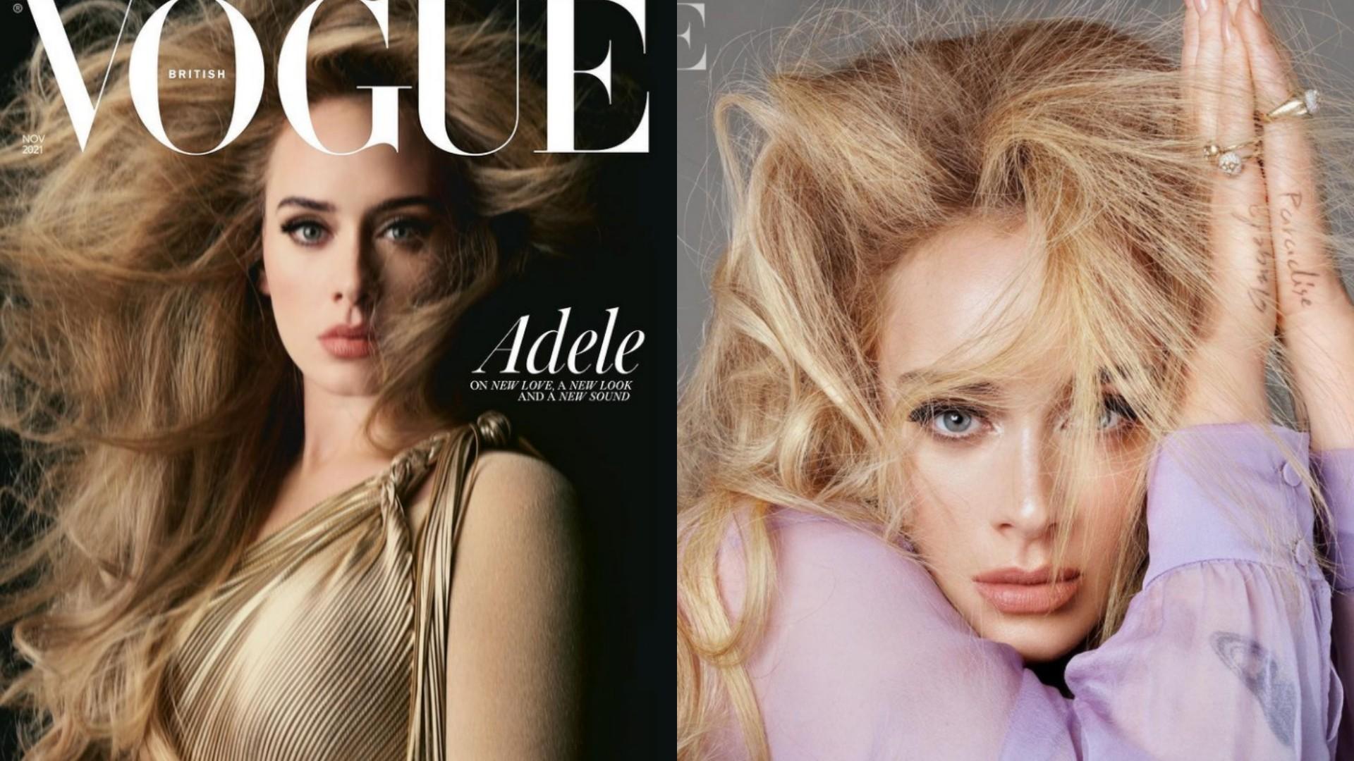 """""""Nigdy nie chodziło o utratę wagi"""" – Adele zachwyca w Vogue'u zdjęciami i rozmową"""