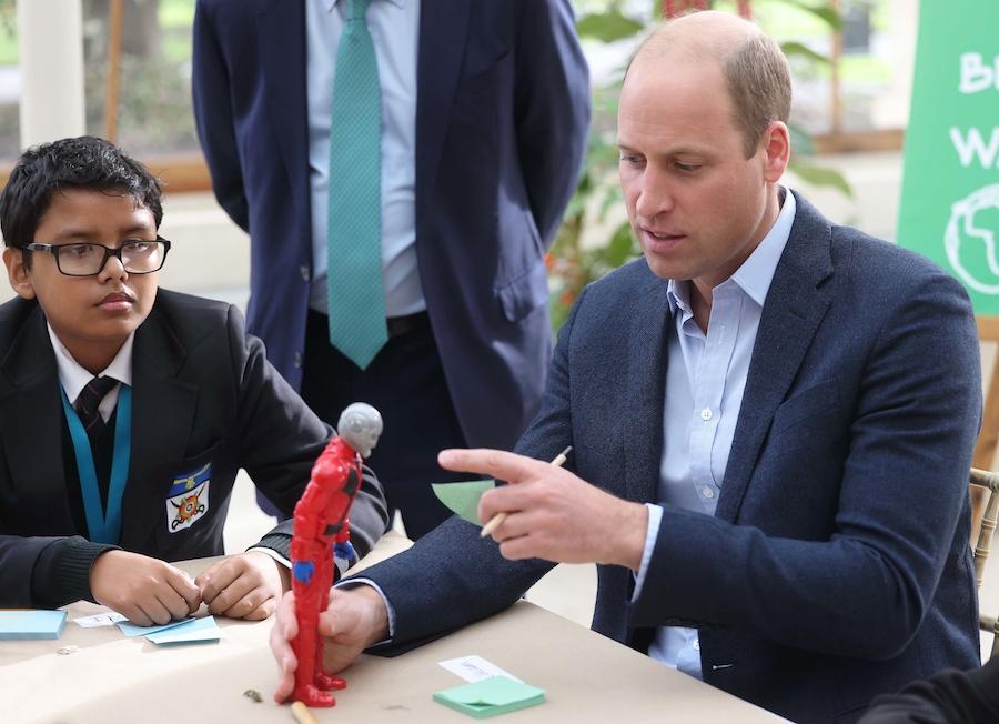 Kate i William przybyli razem na spotkanie