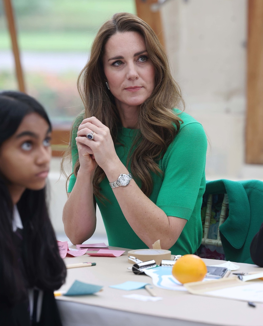 Księżna Kate i książę William odwiedzili dzieci ze szkoły w Hounslow w Londynie