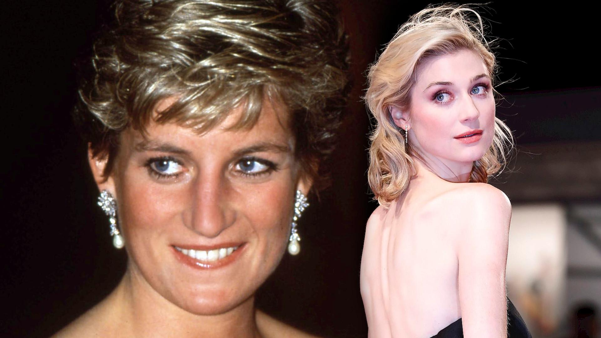Wow! Elizabeth Debicki wygląda identycznie jak księżna Diana