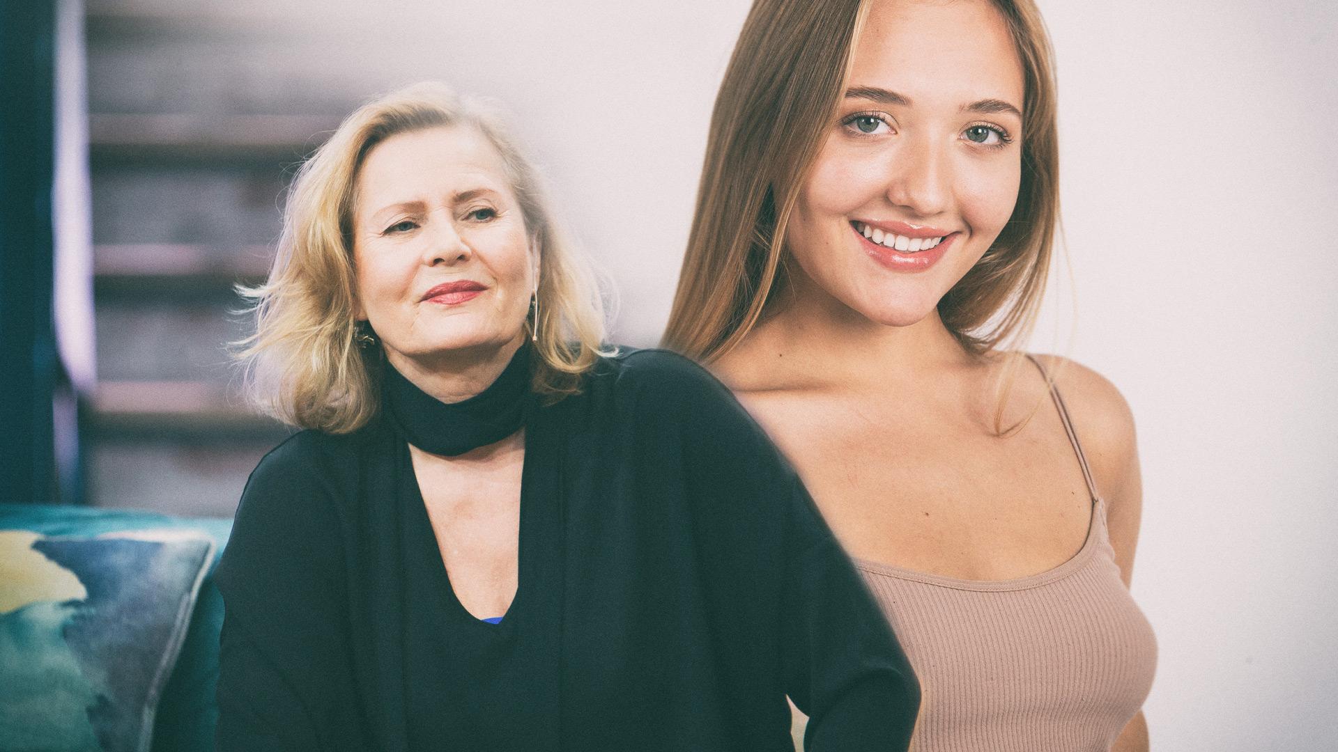Grażyna Szapołowska ma bardzo dobry kontakt z wnuczką. Zobaczcie, jaka podobna do babci